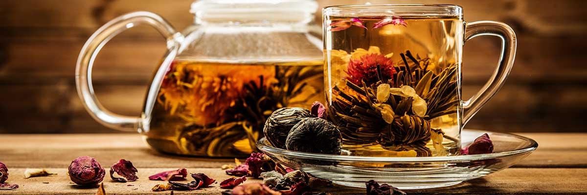 Erblüh-Tee (Teeblumen)