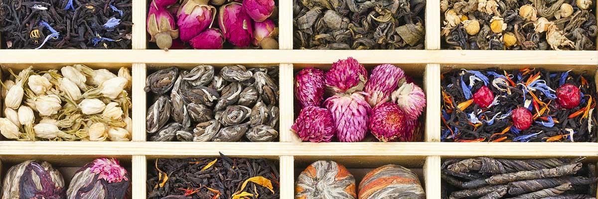 Bio aromatisierter Tee (Grüntee / Schwarztee)
