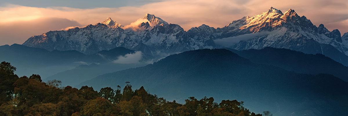 Nepal und Sikkim