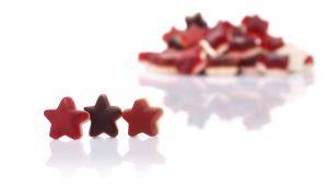 Karlsruher Sternschnuppen - Fruchtsaft Zimt-Stern auf Schaum, 20 % Fruchtsaftanteil, 150 g