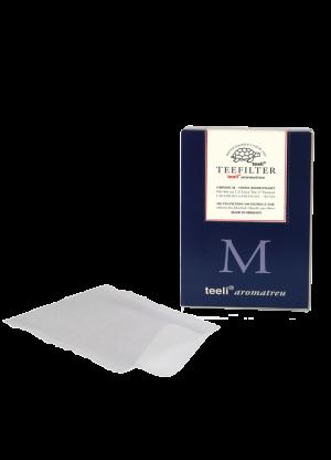 Papierteefilter Teeli Netz M - chlorfrei - weiss
