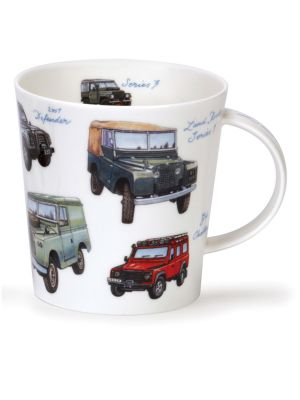 DUNOON Becher Cairngorm Collection LAND ROVERS Classics
