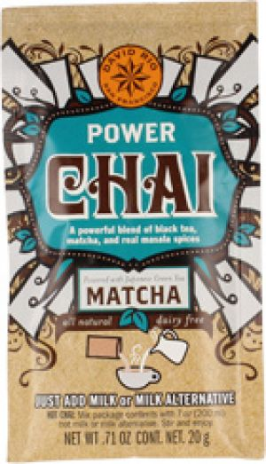 David Rio POWER CHAI MATCHA Portionsbeutel