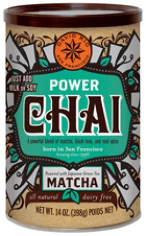 David Rio POWER CHAI MATCHA Dose