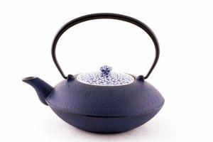 Gusskanne Royal KANO KAKIZUME 0,9 l -dunkelblau- Japan