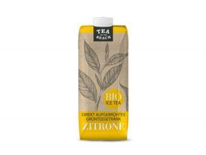 BIO Grünteegetränk TEA ON THE BEACH - Zitrone 500ml
