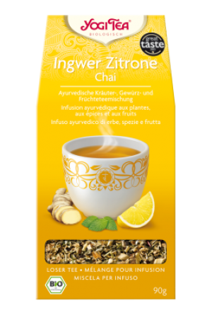 YOGI TEA® Ingwer Zitrone Chai lose