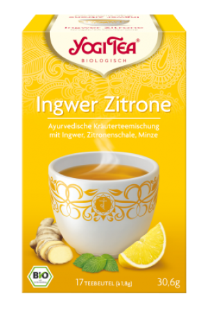 YOGI TEA® Ingwer Zitrone Chai Beutel