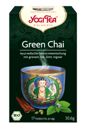 YOGI TEA® Green Chai Beutel