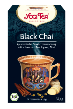 YOGI TEA® Black Chai Beutel