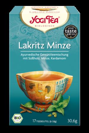 YOGI TEA® Lakritz Minze Beutel