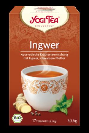 YOGI TEA® Ingwer Beutel