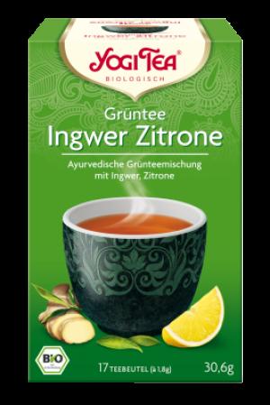 YOGI TEA® Grüntee Ingwer Zitrone Beutel