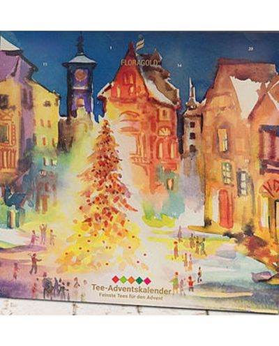 Adventskalender Weihnachtsmarkt