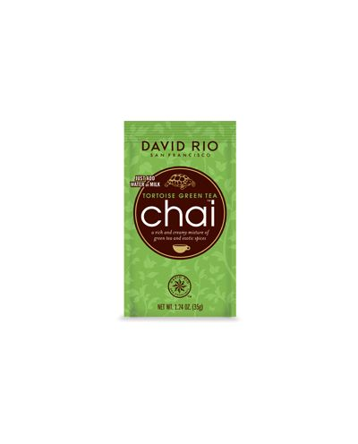 David Rio TORTOISE GREEN Portionsbeutel