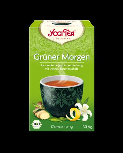 YOGI TEA® Grüner Morgen Beutel 17 x 1,8g