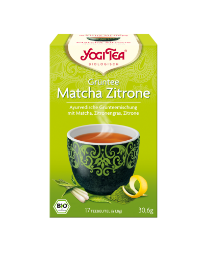 YOGI TEA® Grüntee Matcha Zitrone Beutel